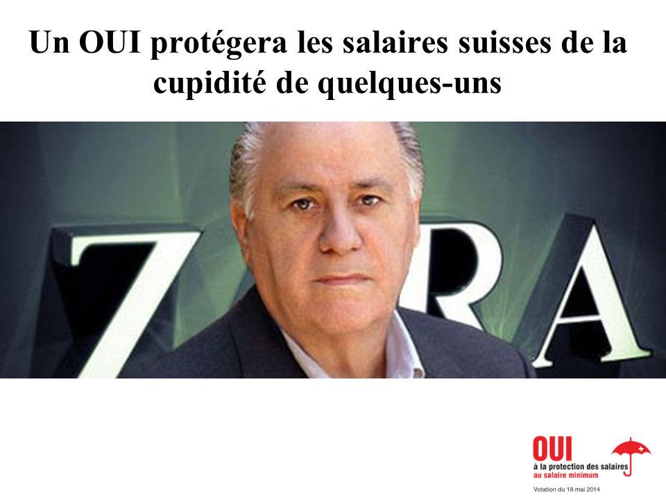 Un OUI protégera les salaires suisses de la cupidité de quelques-uns BILD Lohnschutz oder BILD Abzocker
