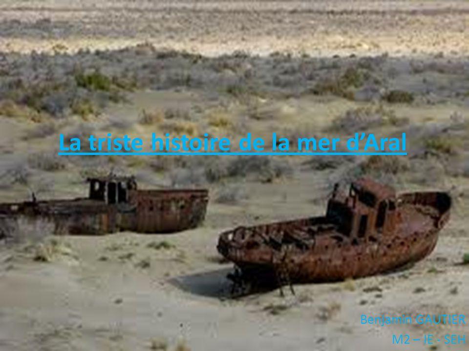 Benjamin GAUTIER M2 – IE - SEH La triste histoire de la mer dAral