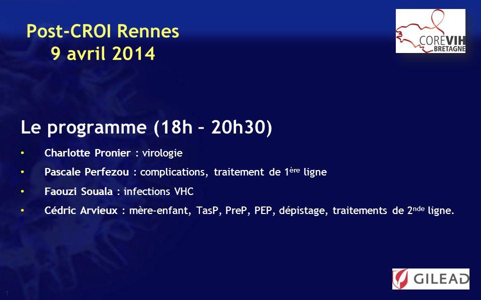 22 125 IV.Traitement ARV Traitements chez les patients en suppression virologique IV.