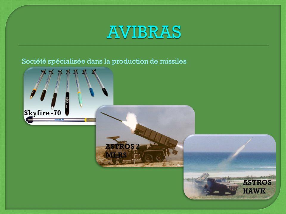 Skyfire -70 Société spécialisée dans la production de missiles ASTROS 2 MLRS ASTROS HAWK