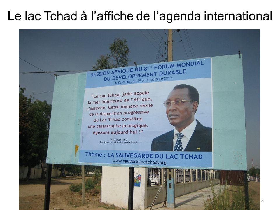 Introduction Disparition du lac Tchad .