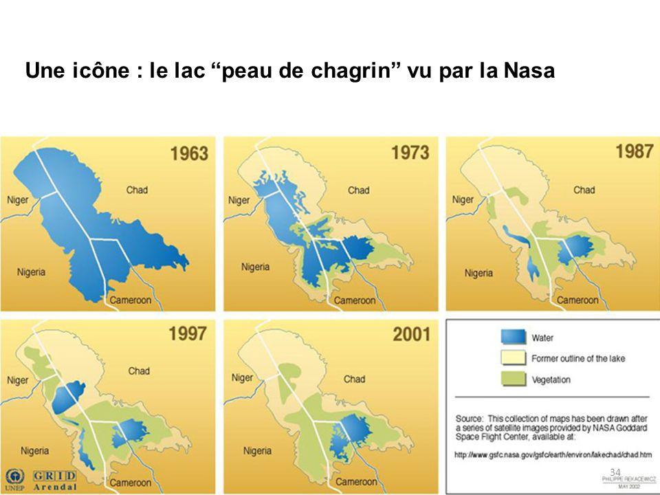 Une icône : le lac peau de chagrin vu par la Nasa 34