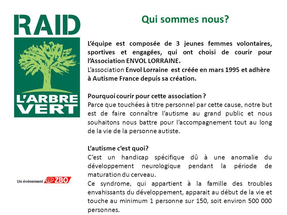 Envol Lorraine Le siège de lassociation ENVOL LORRAINE est situé à CREHANGE et adhère à Autisme France depuis sa création.