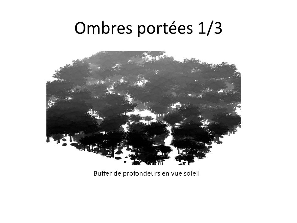 Ombres portées 2/3 Percentage-Close Filtering 3x3