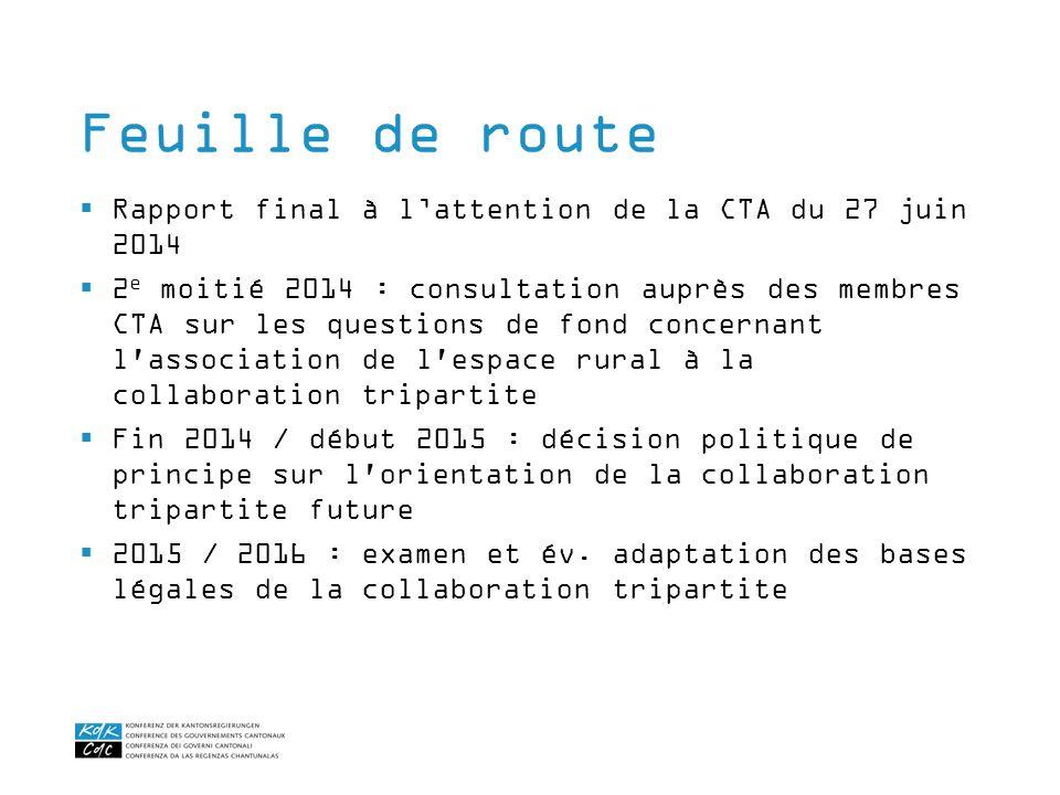 Rapport final à lattention de la CTA du 27 juin 2014 2 e moitié 2014 : consultation auprès des membres CTA sur les questions de fond concernant l'asso