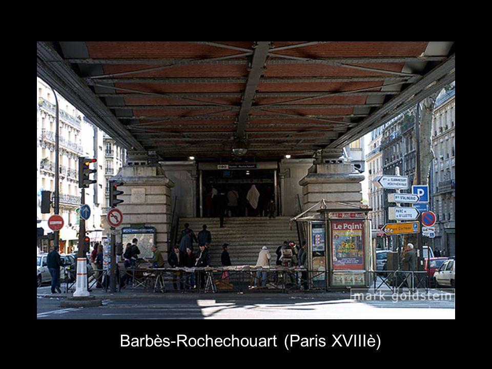 Barbès-Rochechouart (Paris XVIIIè)