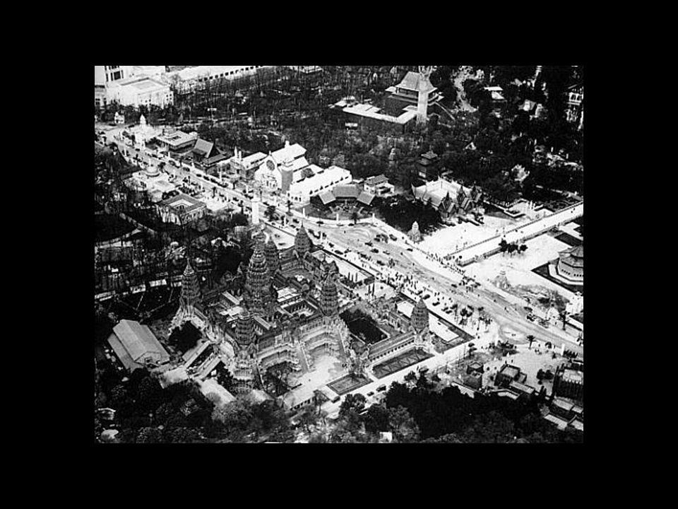 Exposition internationale coloniale: 1931--> Musée des Colonies Musée des arts africains et océaniens: 1960 Cité nationale de lhistoire de limmigration: 2007