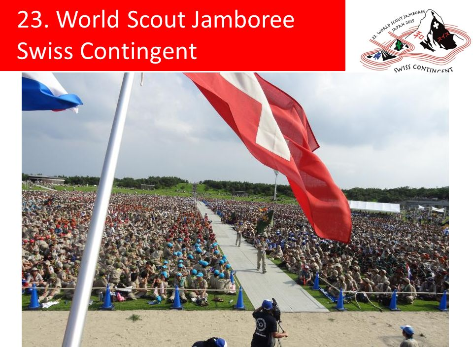 23. World Scout Jamboree Swiss Contingent