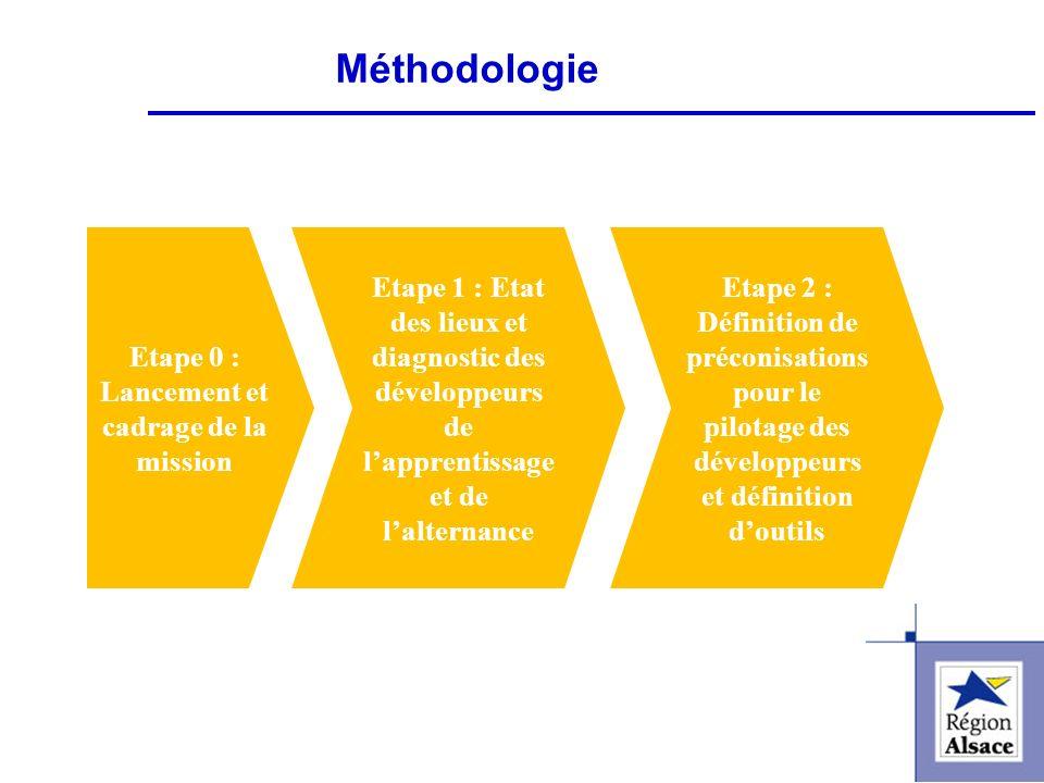 FI&FPCFI&FPC Etape 0 : Lancement et cadrage de la mission Etape 1 : Etat des lieux et diagnostic des développeurs de lapprentissage et de lalternance