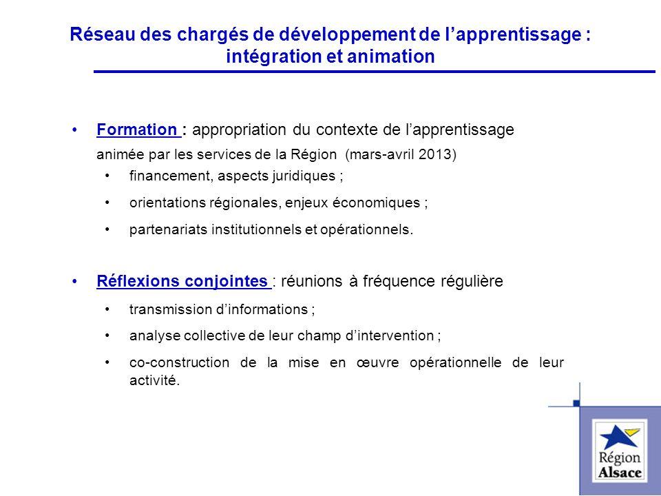 FI&FPCFI&FPC Réseau des chargés de développement de lapprentissage : intégration et animation Formation : appropriation du contexte de lapprentissage
