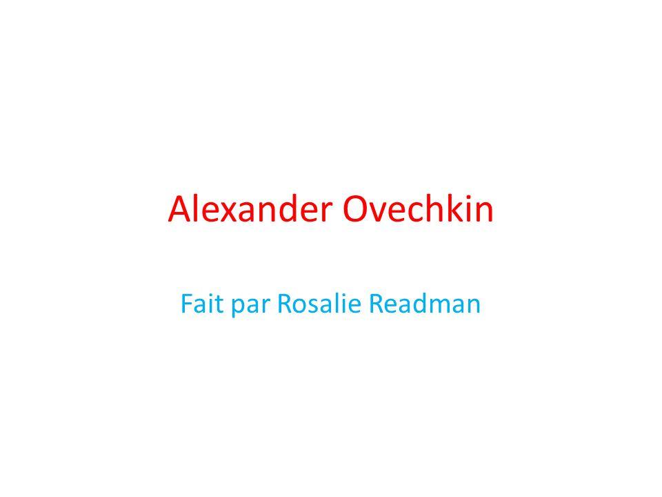 Alexander Ovechkin Fait par Rosalie Readman