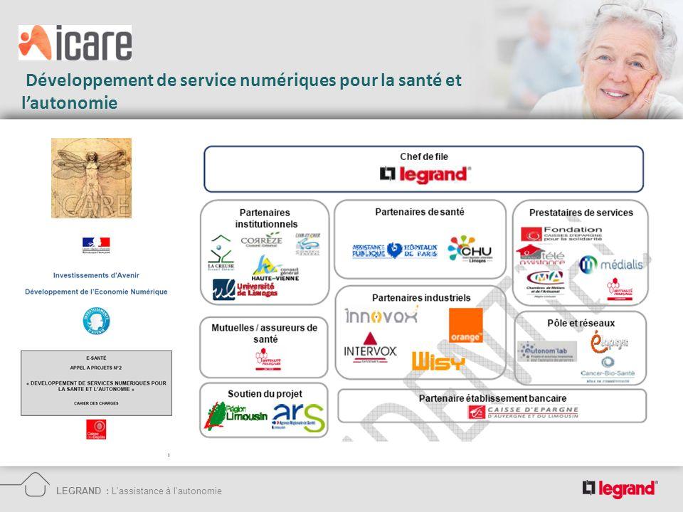 Développement de service numériques pour la santé et lautonomie