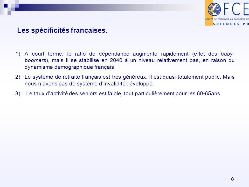 8 Les spécificités françaises.