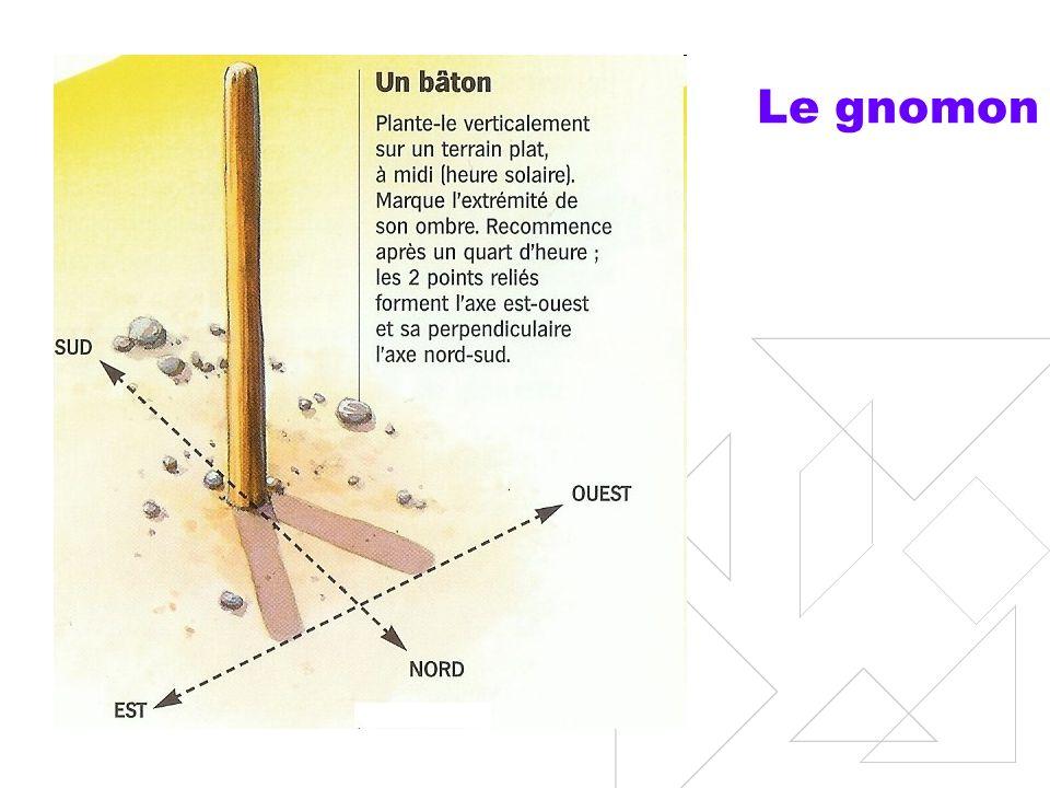Les cadrans solaires Au Moyen-âge, cadran solaire à 4 traits (début et fin du travail des ouvriers, et pauses).
