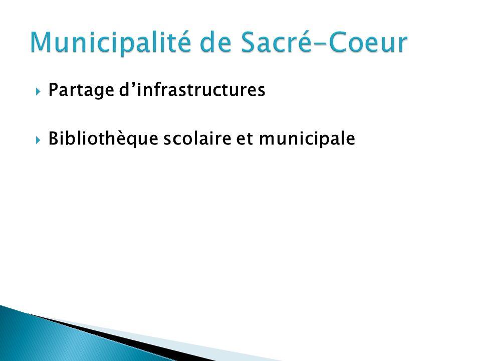 Partage dinfrastructures Bibliothèque scolaire et municipale