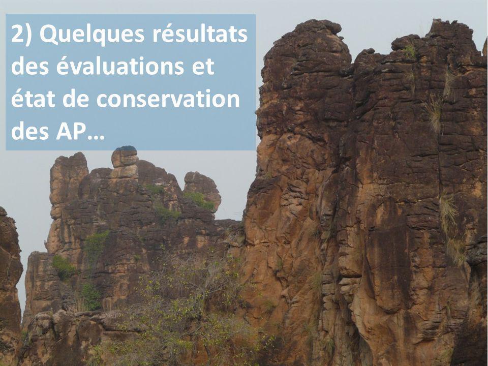 CONTEXTE : beaucoup « dAP », de tailles et de catégories différentes, inégalement réparties… Source: WWF = écorégions Difficile de faire des comparaisons