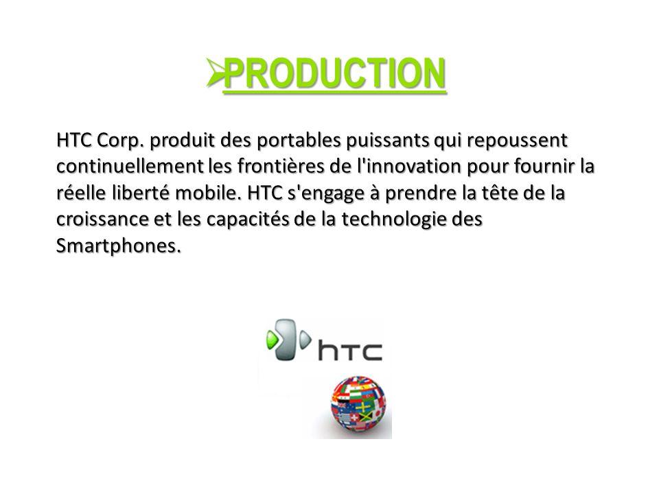 PRODUCTION PRODUCTION HTC Corp.