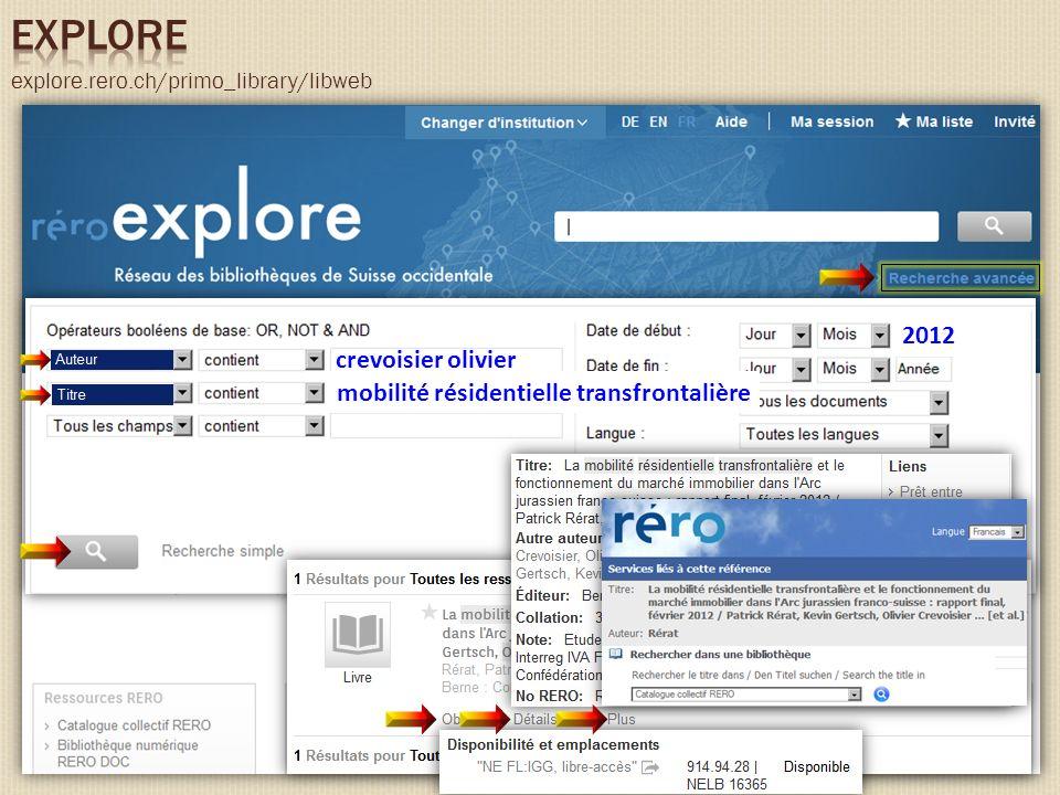 explore.rero.ch/primo_library/libweb mobilité résidentielle transfrontalière crevoisier olivier 2012