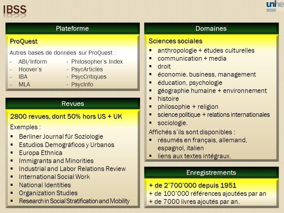 Sciences sociales anthropologie + études culturelles communication + media droit économie, business, management éducation, psychologie géographie huma