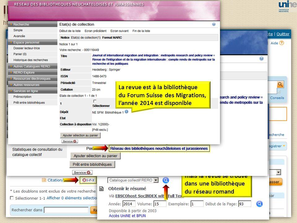 http://search.proquest.com/ibss/advanced Pas de texte intégral, mais la revue se trouve dans une bibliothèque du réseau romand La revue est à la bibli