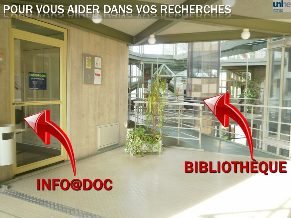 INFO@DOC BIBLIOTHÈQUE