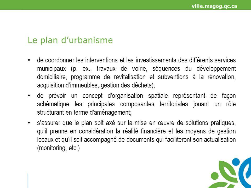 Avantages outil donnant une direction commune à de multiples décisions sectorielles (p.