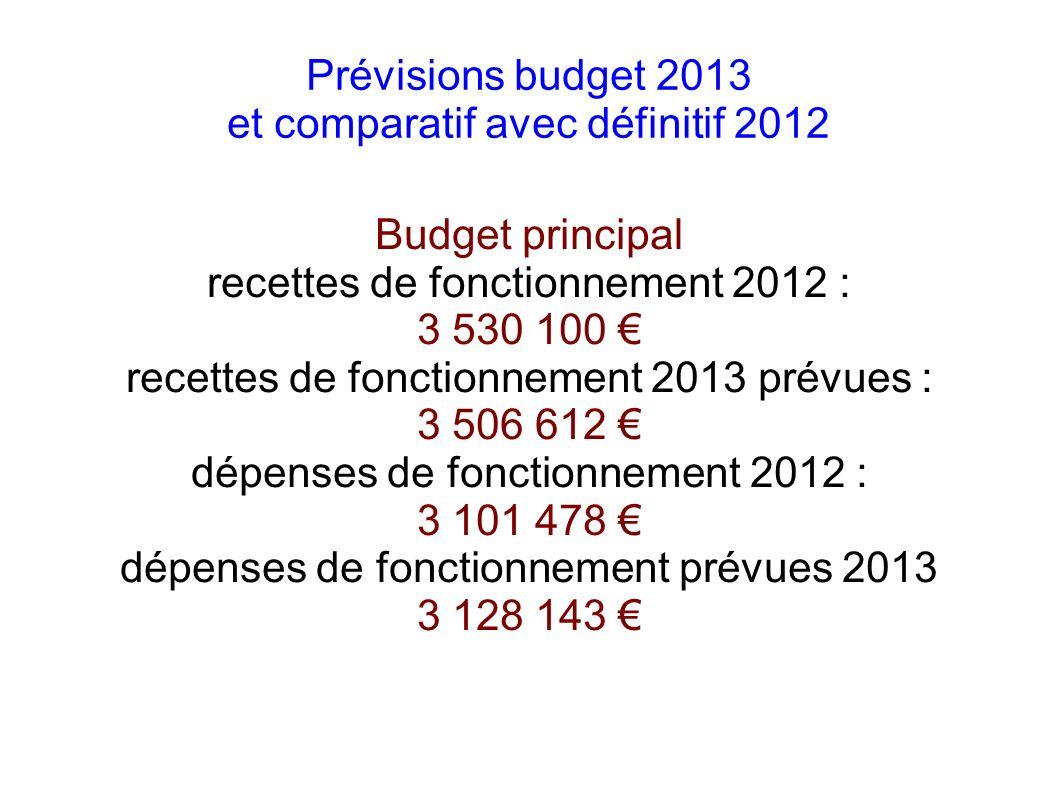 Budget services du Port recettes de fonctionnement 2012 96 836 recettes de fonctionnement 2013 prévues 406 947 dépenses de fonctionnement 2012 143 274 dépenses de fonctionnement 2013 prévues 159 020