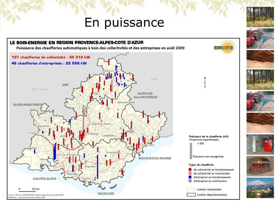 MISSION REGIONALE BOIS ENERGIE PACA Présentation du 26/11/09 – Forêt Méditerranéenne Parité entre plaquettes forestières et autres produits Vision globale