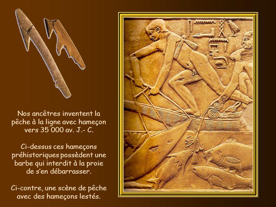 La lance fut inventée vers 400 000 av. J.- C. Ci-contre un guerrier hittite.