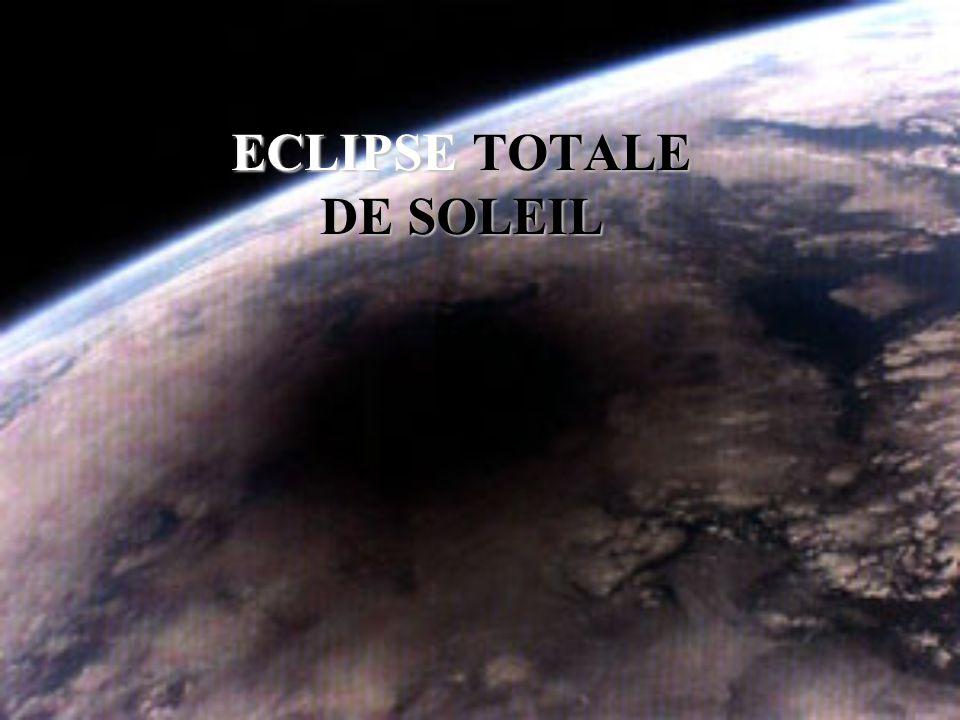 Passage dans le cône d ombre de la Terre
