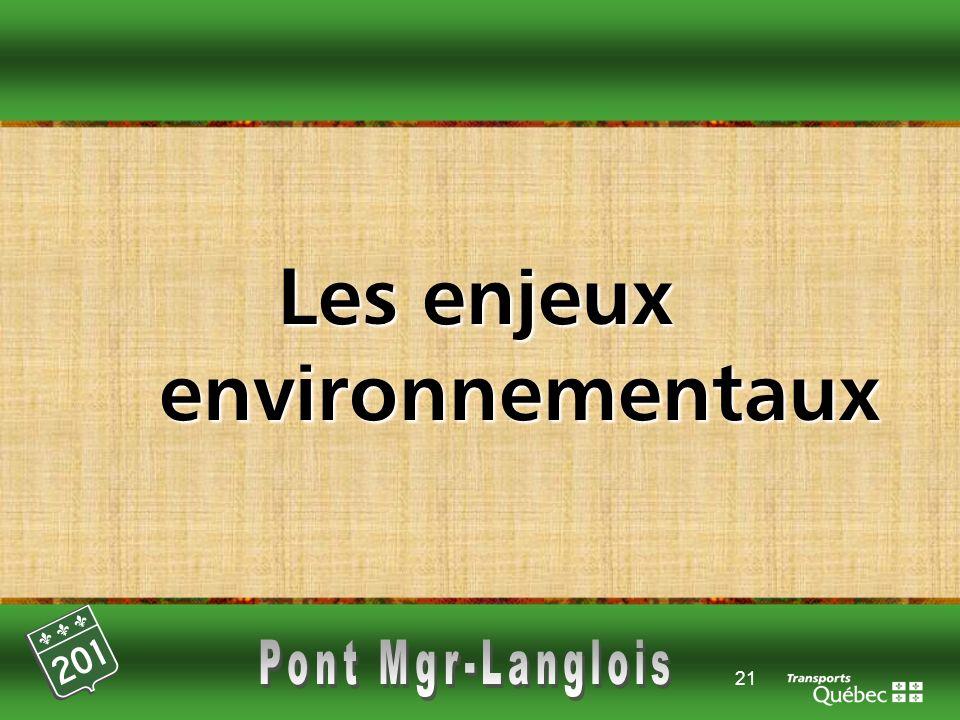 21 Les enjeux environnementaux