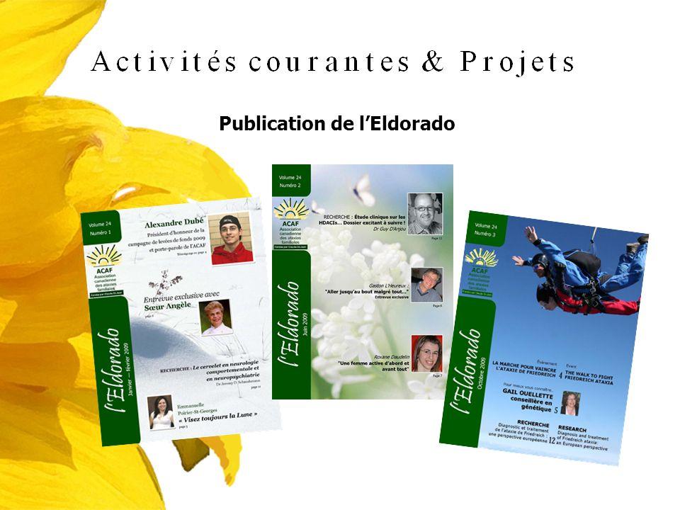 Publication de lEldorado