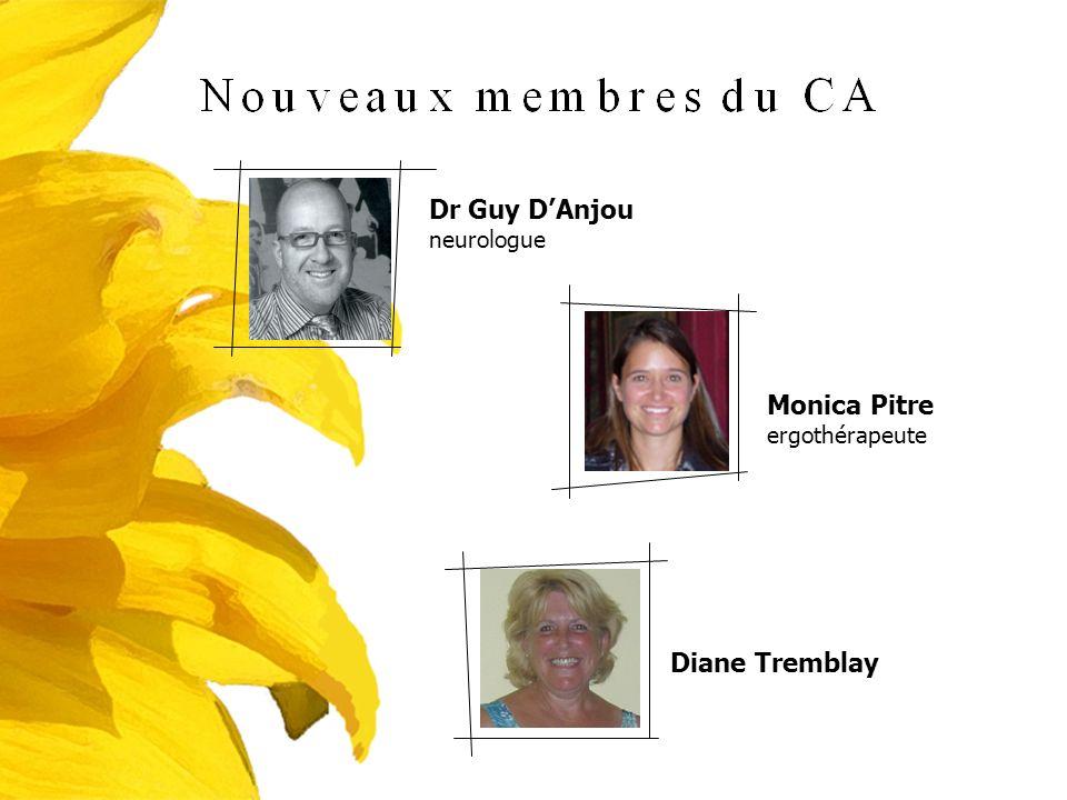 Dr Guy DAnjou neurologue Monica Pitre ergothérapeute Diane Tremblay