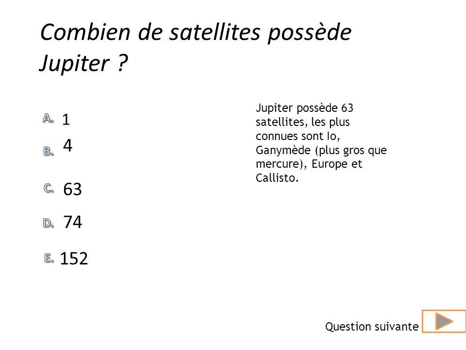 En combien de temps Jupiter tourne telle sur elle-même? 3 heures 51 heures 48 heures 24 heures 11 heures En plus dêtre la planète la plus grosse et la