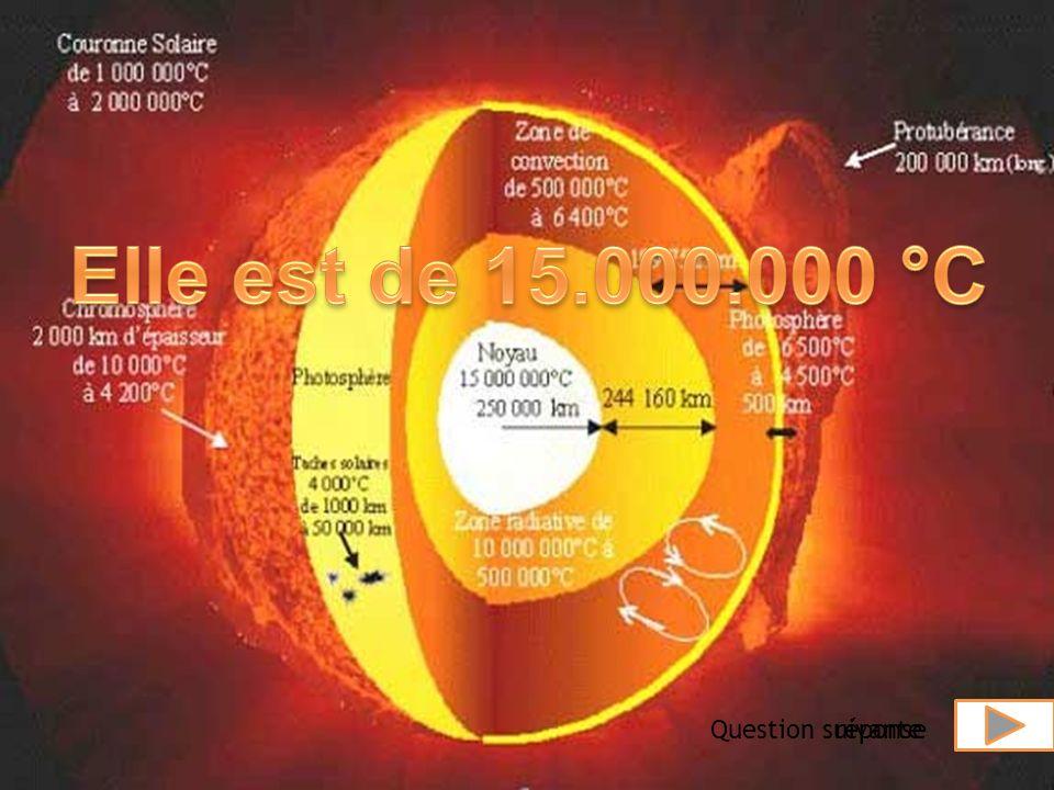 VRAI ou FAUX ? Le soleil est une étoile. Question suivante