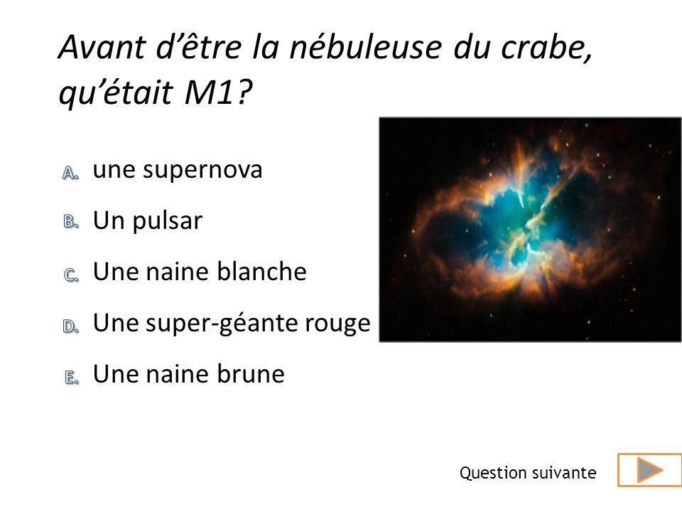 Quel est le nom de notre galaxie ? réponse Question suivante