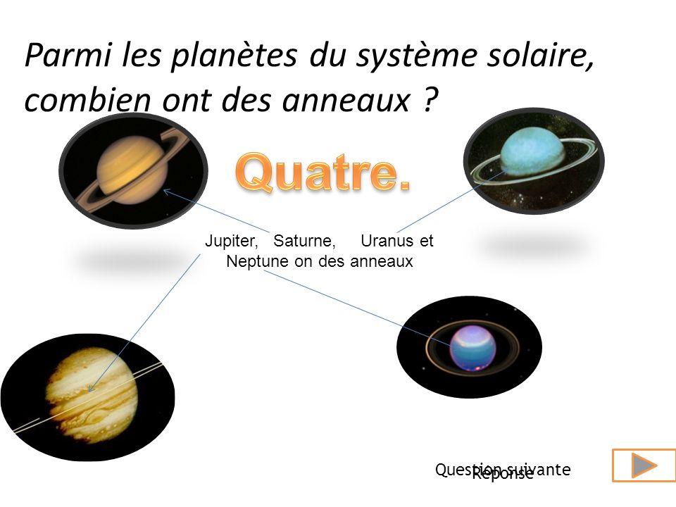 Quelle est la planète qui met le plus de temps à faire le tour du Soleil? réponseQuestion suivante Elle est située à 4 504 000 000 kilomètres du solei