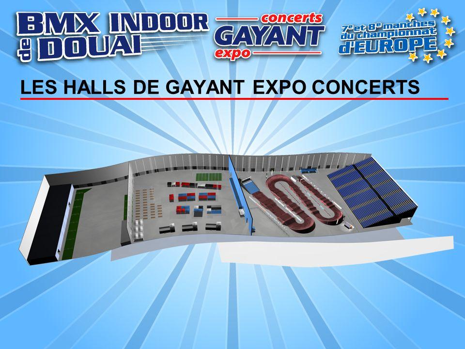 LES HALLS DE GAYANT EXPO CONCERTS