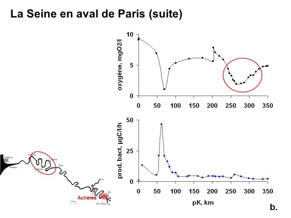 La Seine en aval de Paris (suite) Achères