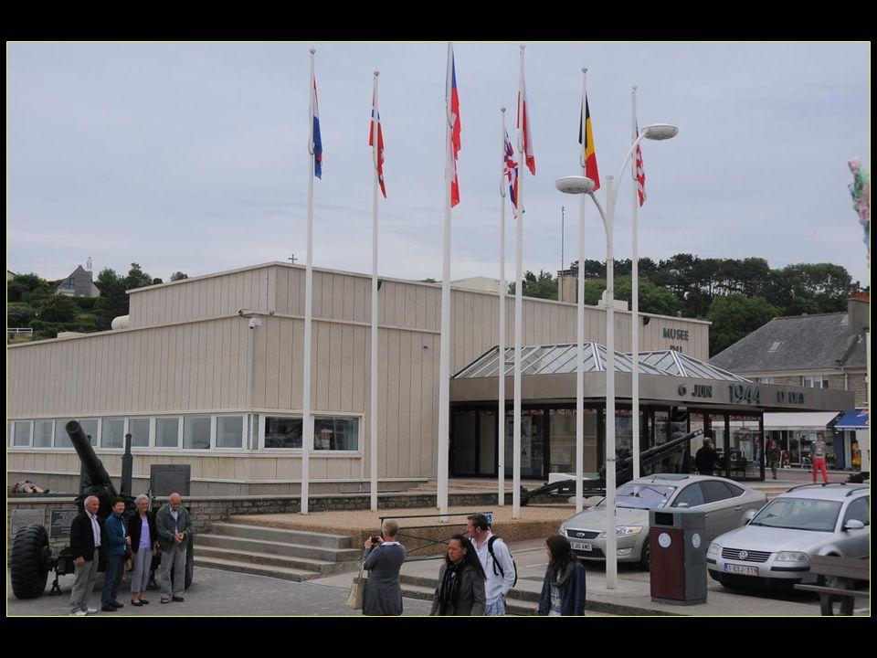 Le musée du débarquement fut construit sur le site même où fut implanté le port artificiel