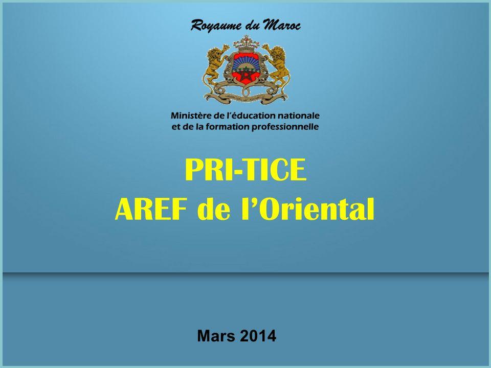 Mars 2014 PRI-TICE AREF de lOriental