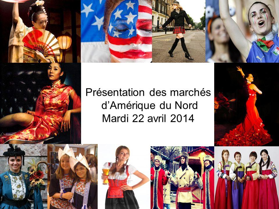 Présentation des marchés dAmérique du Nord Mardi 22 avril 2014