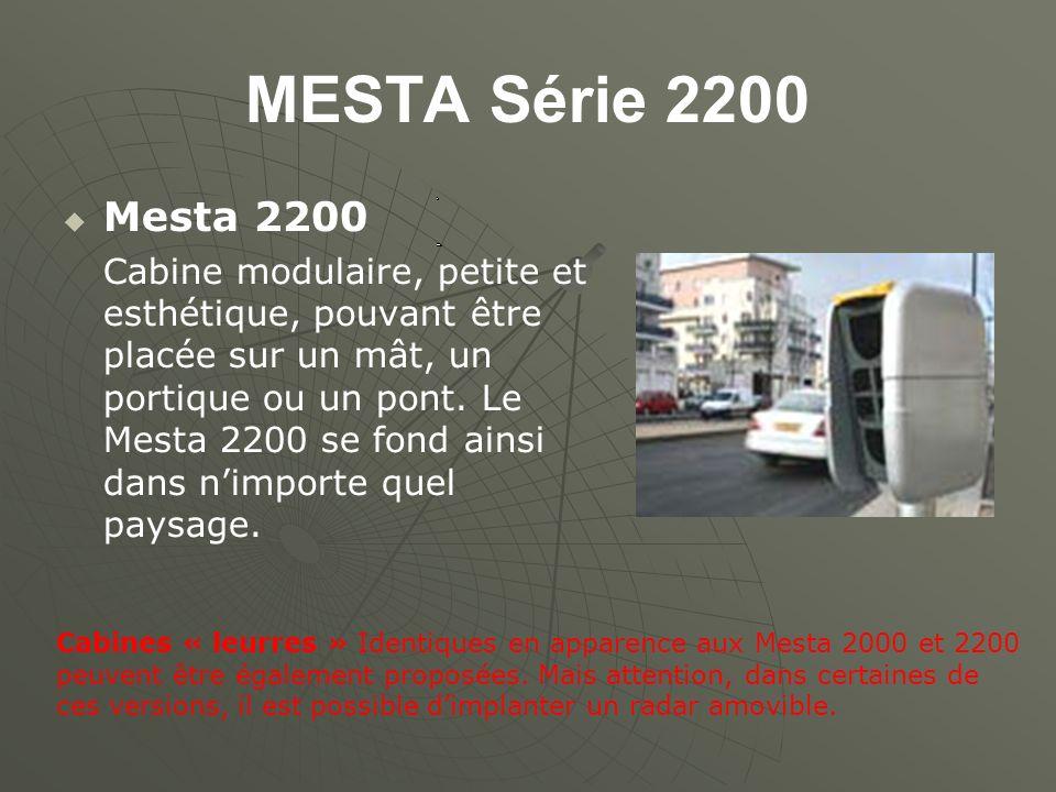 MESTA Série 2200 Mesta 2200 Cabine modulaire, petite et esthétique, pouvant être placée sur un mât, un portique ou un pont.