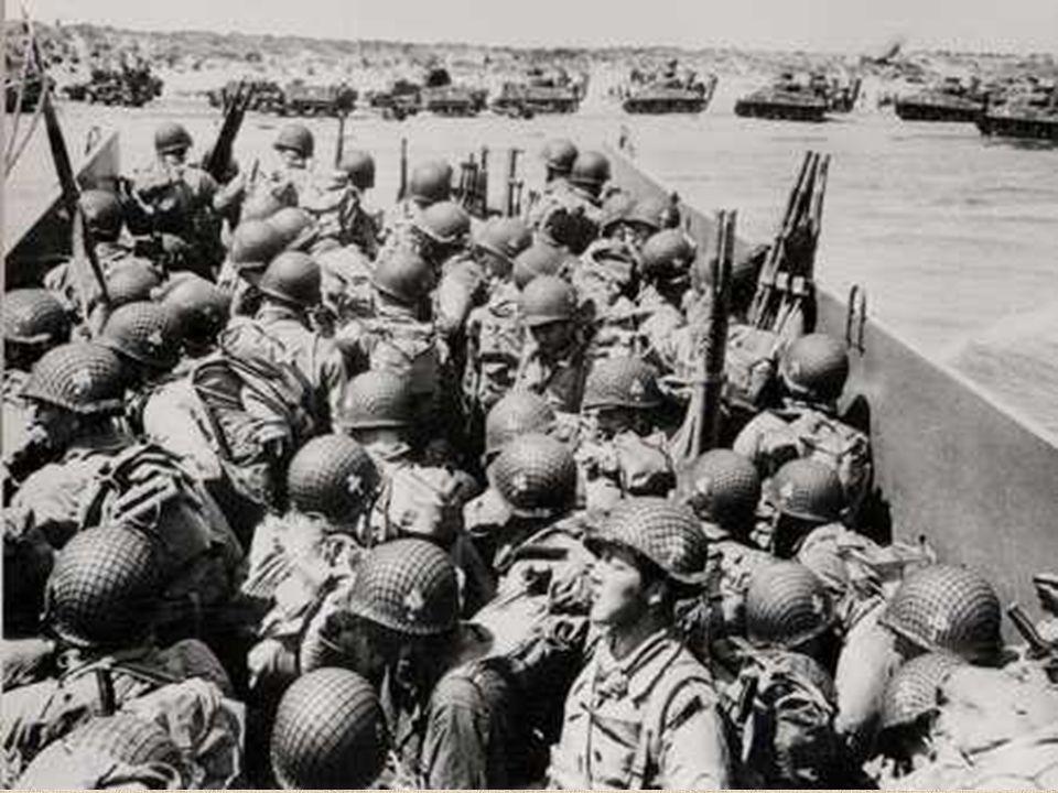 Le 6 juin 1944 à 6h 30 du matin, le 8e régiment de la 4e division dinfanterie américaine du général Barton, épaulé par des chars amphibies, débarque devant les dunes de La Madeleine, distantes de quelques kilomètres seulement du bourg de Sainte-Marie-du-Mont.