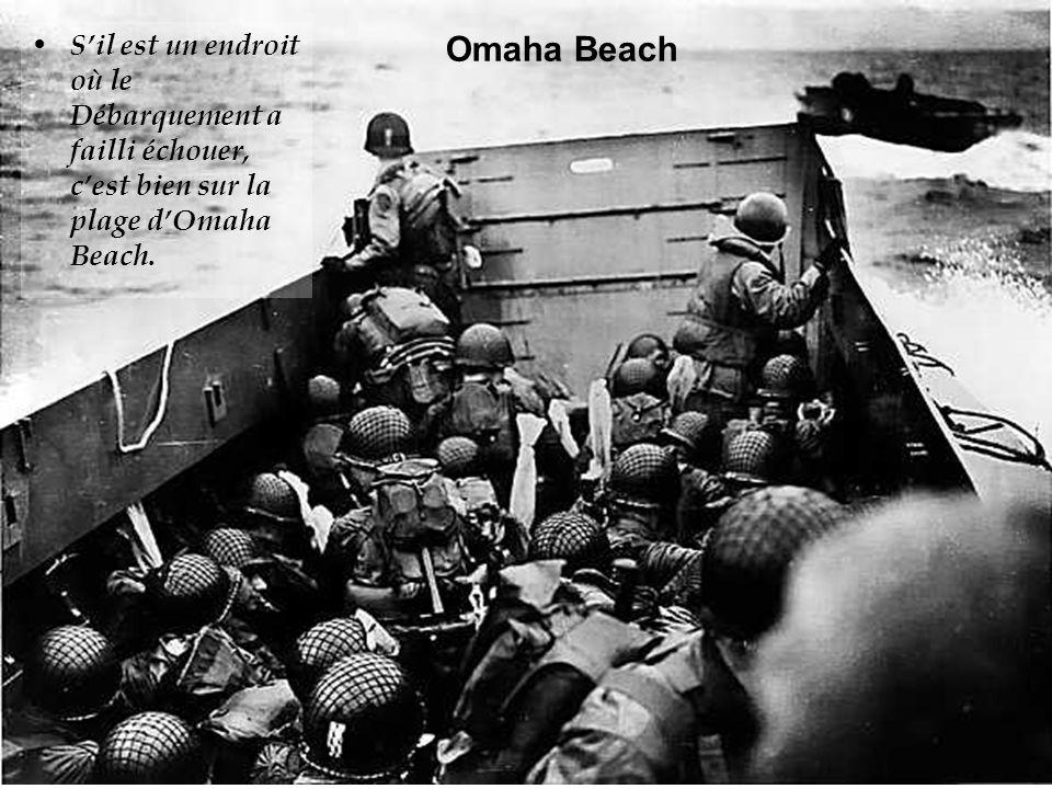 La plage est rapidement nettoyée de ses obstacles par les hommes du génie et le gros des troupes peut débarquer sans encombre, en dépit des tirs spora