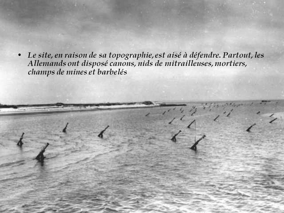 Sil est un endroit où le Débarquement a failli échouer, cest bien sur la plage dOmaha Beach. Omaha Beach
