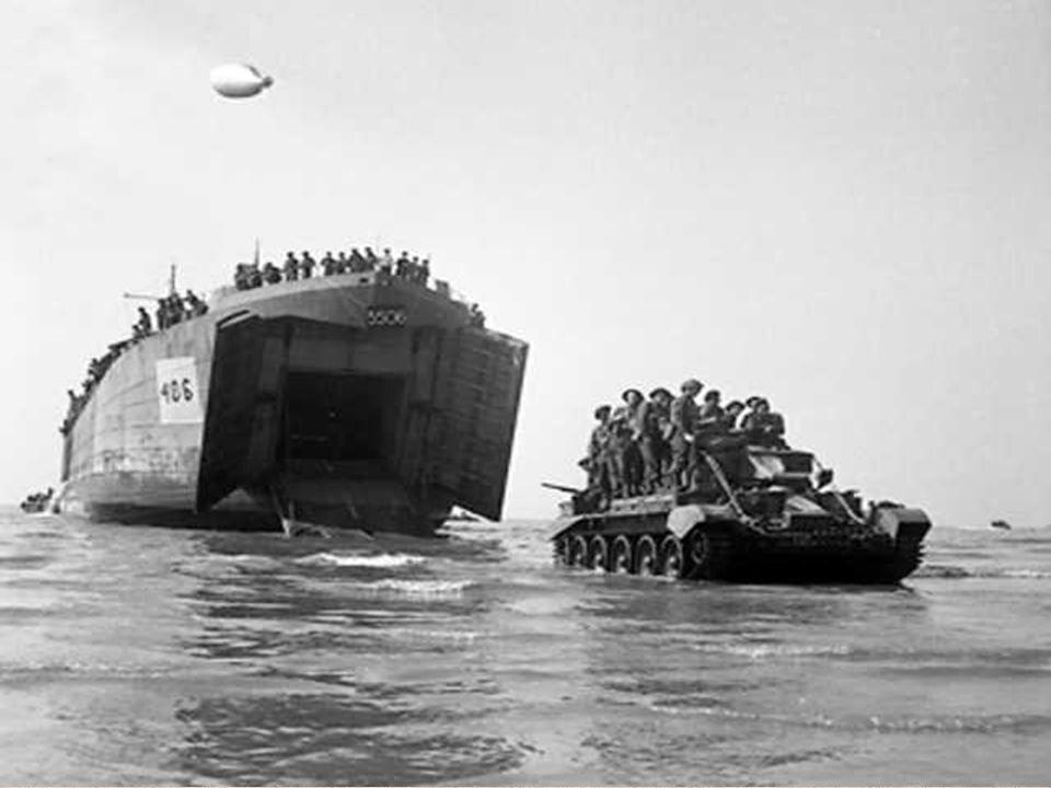 6 juin 1944.Une aube blafarde se lève sur les côtes normandes.