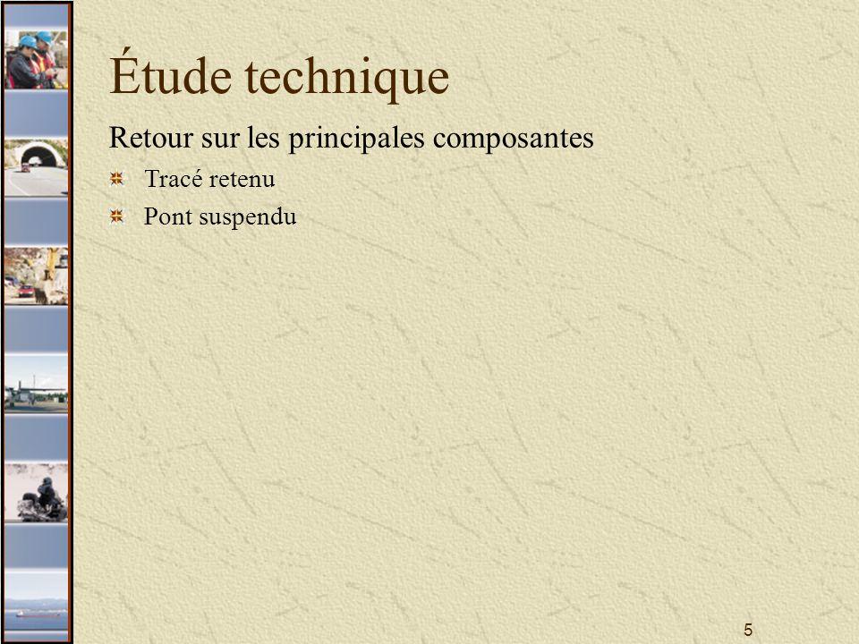16 Étude technique Concept de mise en valeur Le viaduc (secteur 6)
