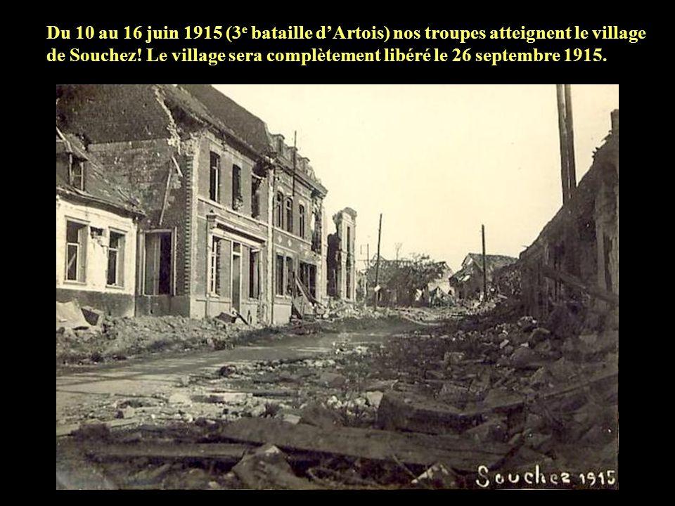 Le 28 mai 1915 le village dAblain St Nazaire est complètement repris.
