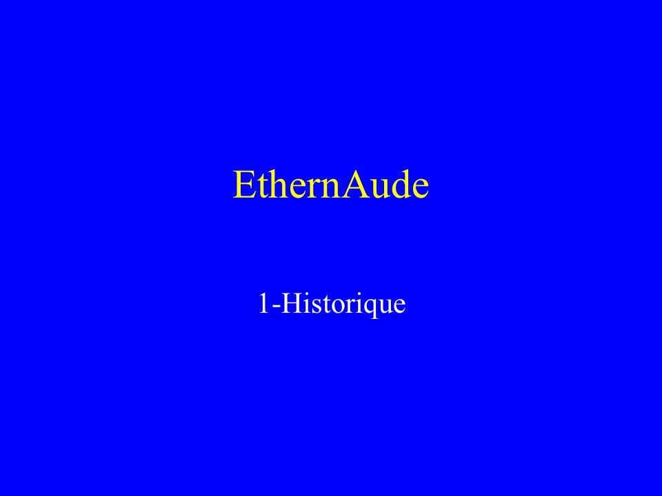 EthernAude 1-Historique 2-Résultats